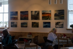 Rhod Evans exhibition at Grimsay  Community Centre