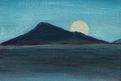 Lorna Boak<i>Moon Rise Over Eaval</i>Arcylic£20