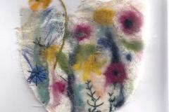 Margaret Fenton<i>Bowl of Flowers</i>Felt and Stitch£15