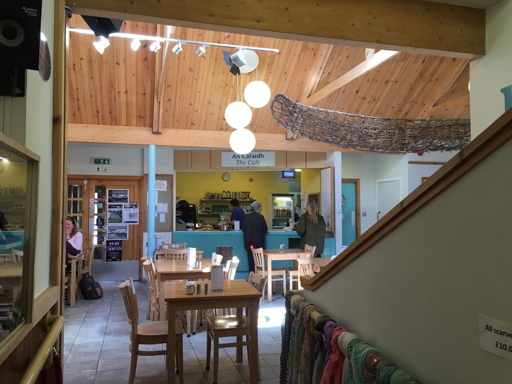 Christmas craft pop-ups at Taigh Chearsabhagh Cafe
