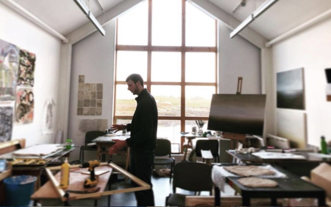 Studying Art in Uist